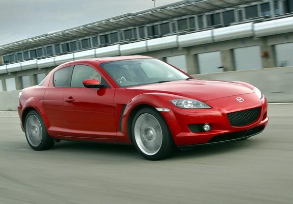 Mazda RX-8 US-spec 2003–08 wallpapers