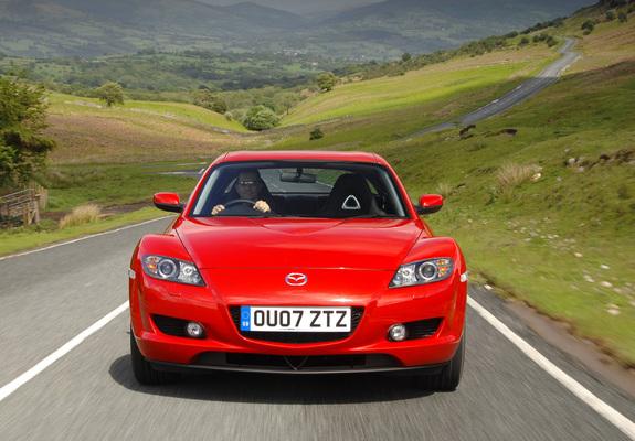 Mazda Rx 8 Wallpapers: Mazda RX-8 UK-spec 2003–08 Wallpapers