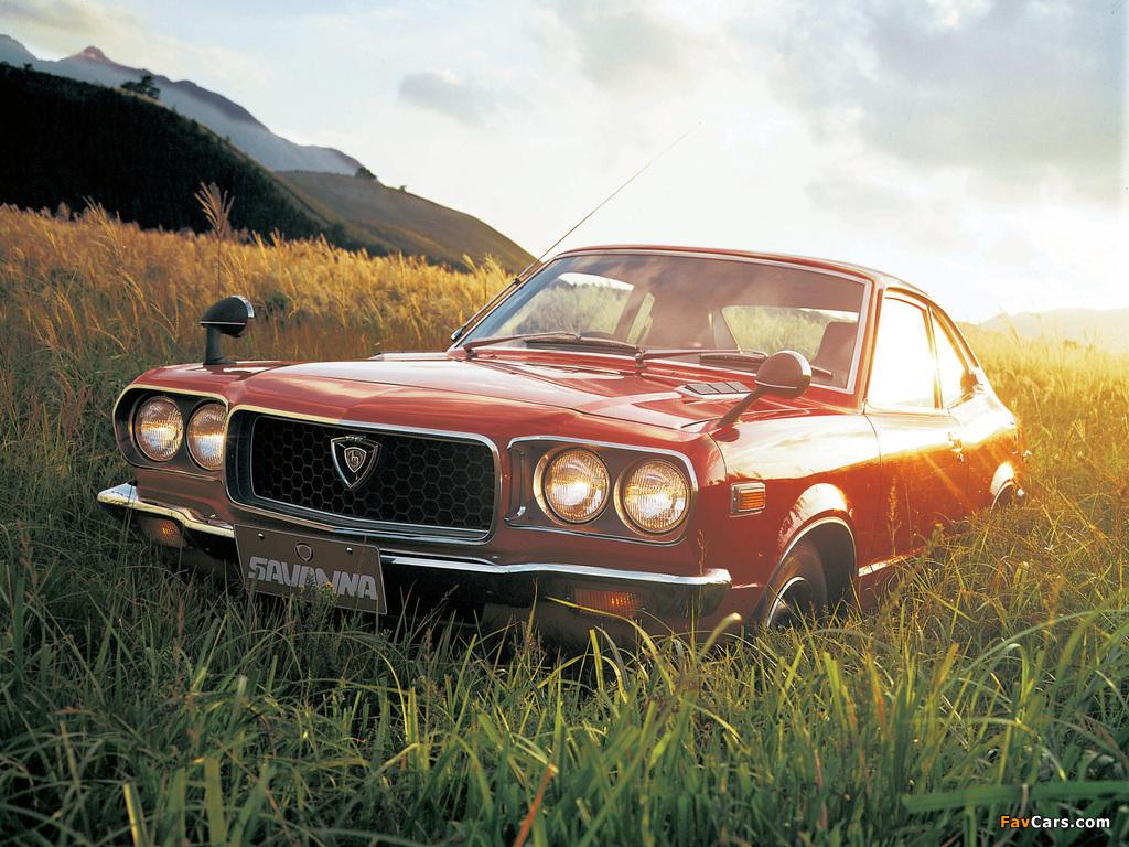 Images of Mazda Savanna Coupe 1971–77 (1024 x 768)