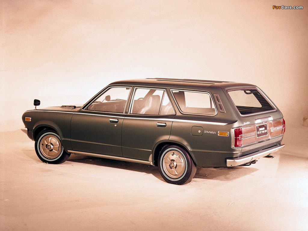 Mazda Savanna Sport Wagon 1973–74 photos (1024 x 768)
