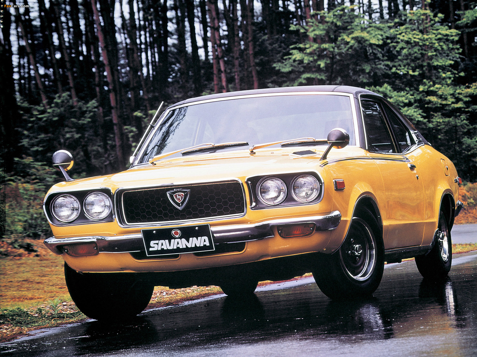 Pictures of Mazda Savanna Coupe 1971–77 (1920 x 1440)
