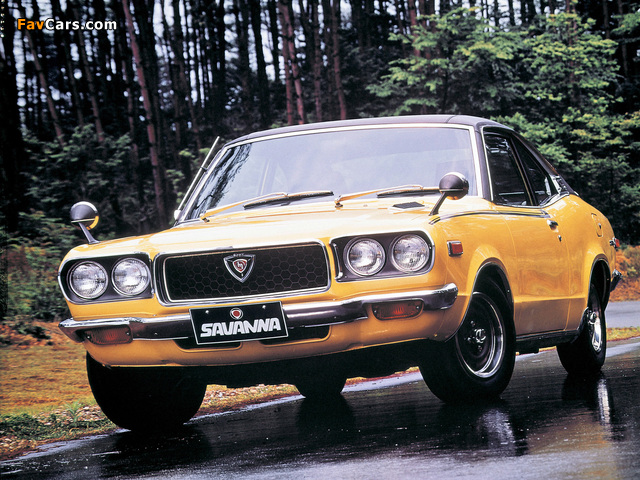 Pictures of Mazda Savanna Coupe 1971–77 (640 x 480)