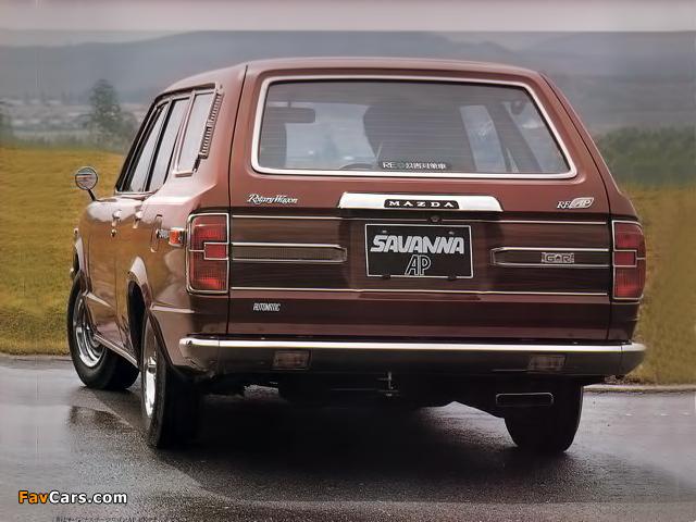 Mazda Savanna Sport Wagon 1973–74 wallpapers (640 x 480)