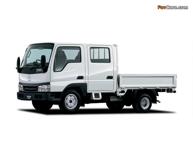 Images of Mazda Titan Dash Double Cab (IV) 2000–10 (640 x 480)
