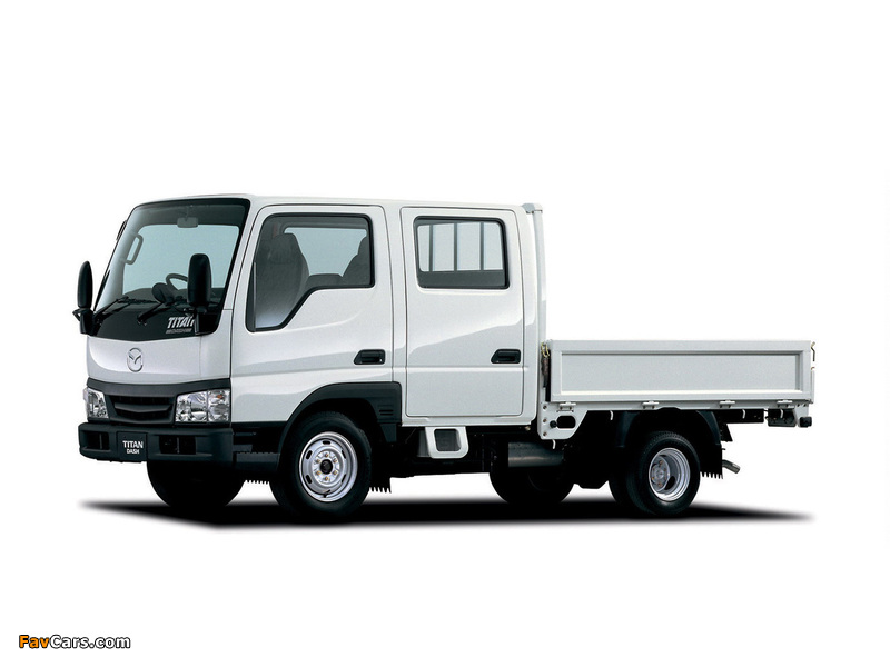 Images of Mazda Titan Dash Double Cab (IV) 2000–10 (800 x 600)