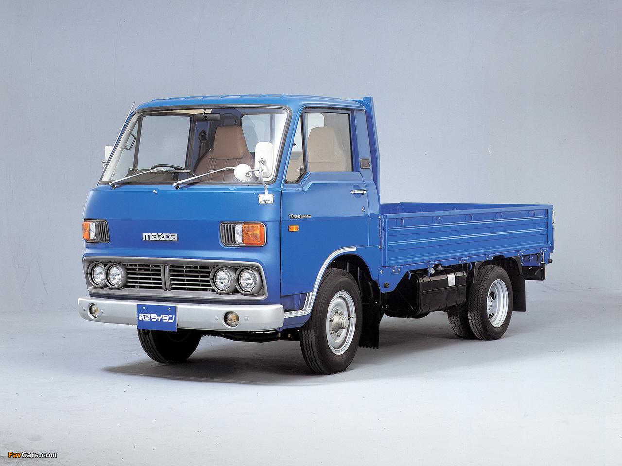Mazda Titan (I) 1977–80 photos (1280 x 960)