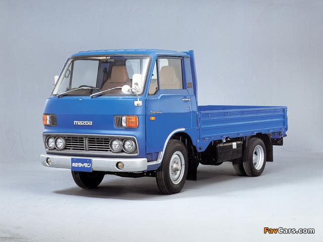 Mazda Titan (I) 1977–80 photos (640 x 480)