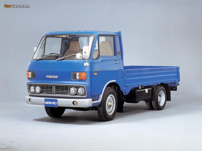 Mazda Titan (I) 1977–80 photos (800 x 600)