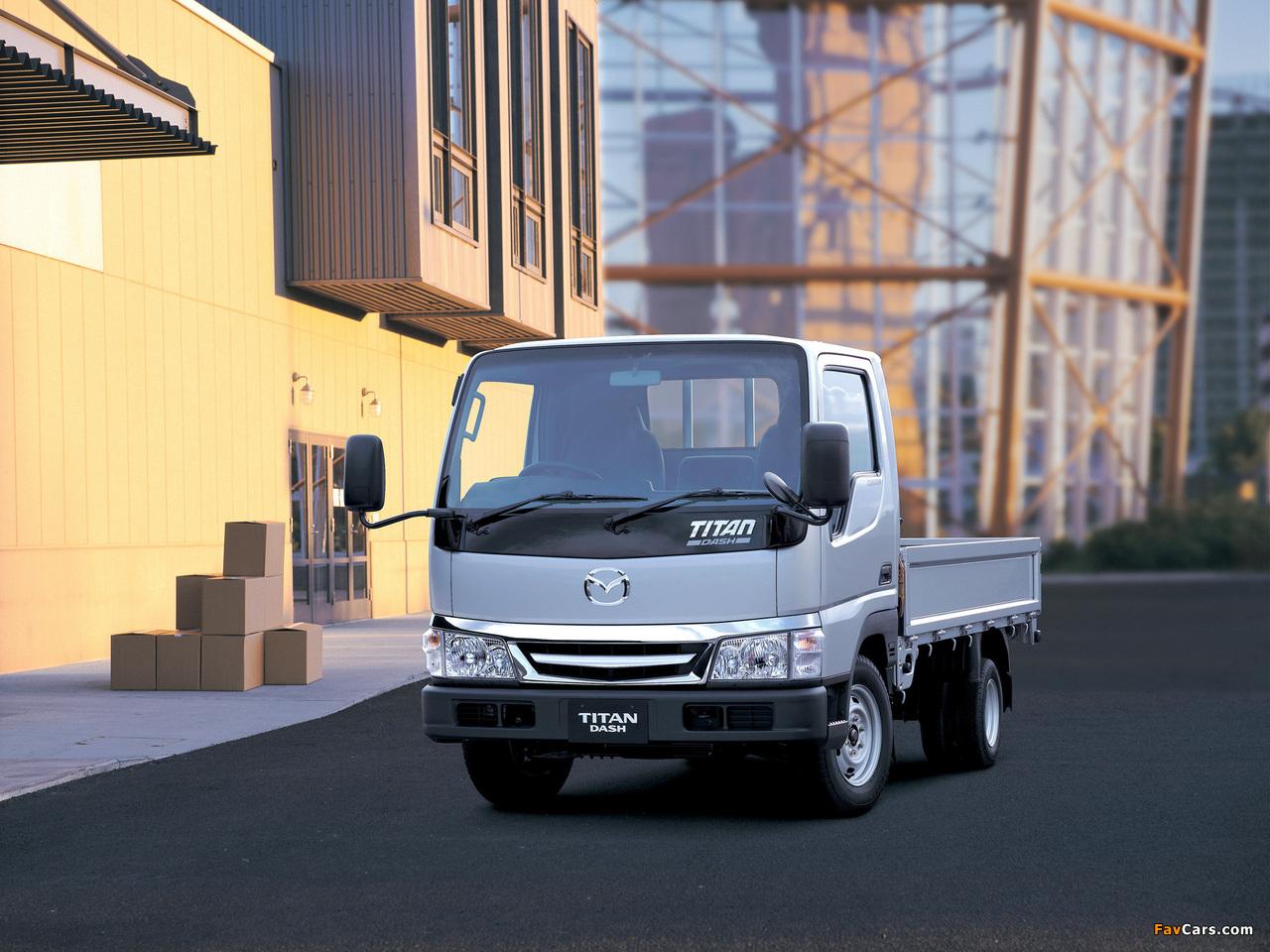 Mazda Titan Dash (IV) 2000–10 photos (1280 x 960)
