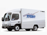 Mazda Titan Delivery Van (IV) 2000–04 wallpapers