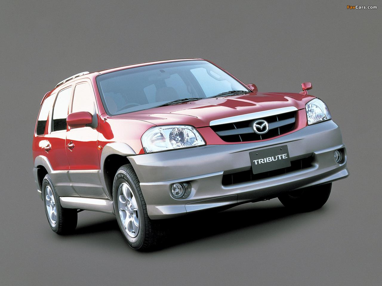 Mazda Tribute GL-X 2000–04 photos (1280 x 960)