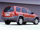 Photos of Mazda Tribute AU-spec (J14) 2001–2004