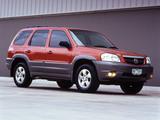 Pictures of Mazda Tribute AU-spec (J14) 2001–2004
