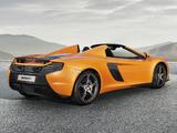 McLaren 650S Spyder 2014 photos
