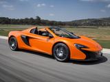 McLaren 650S Spyder 2014 pictures