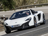Pictures of McLaren 650S Spyder 2014