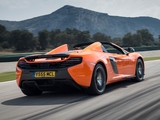 McLaren 650S Spyder 2014 wallpapers