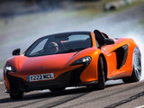 McLaren 650S Spyder UK-spec 2014 wallpapers