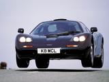 Pictures of McLaren F1 XP5 1993