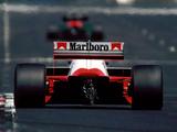 McLaren MP4-2B 1985 photos