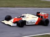McLaren MP4-2C 1986 pictures