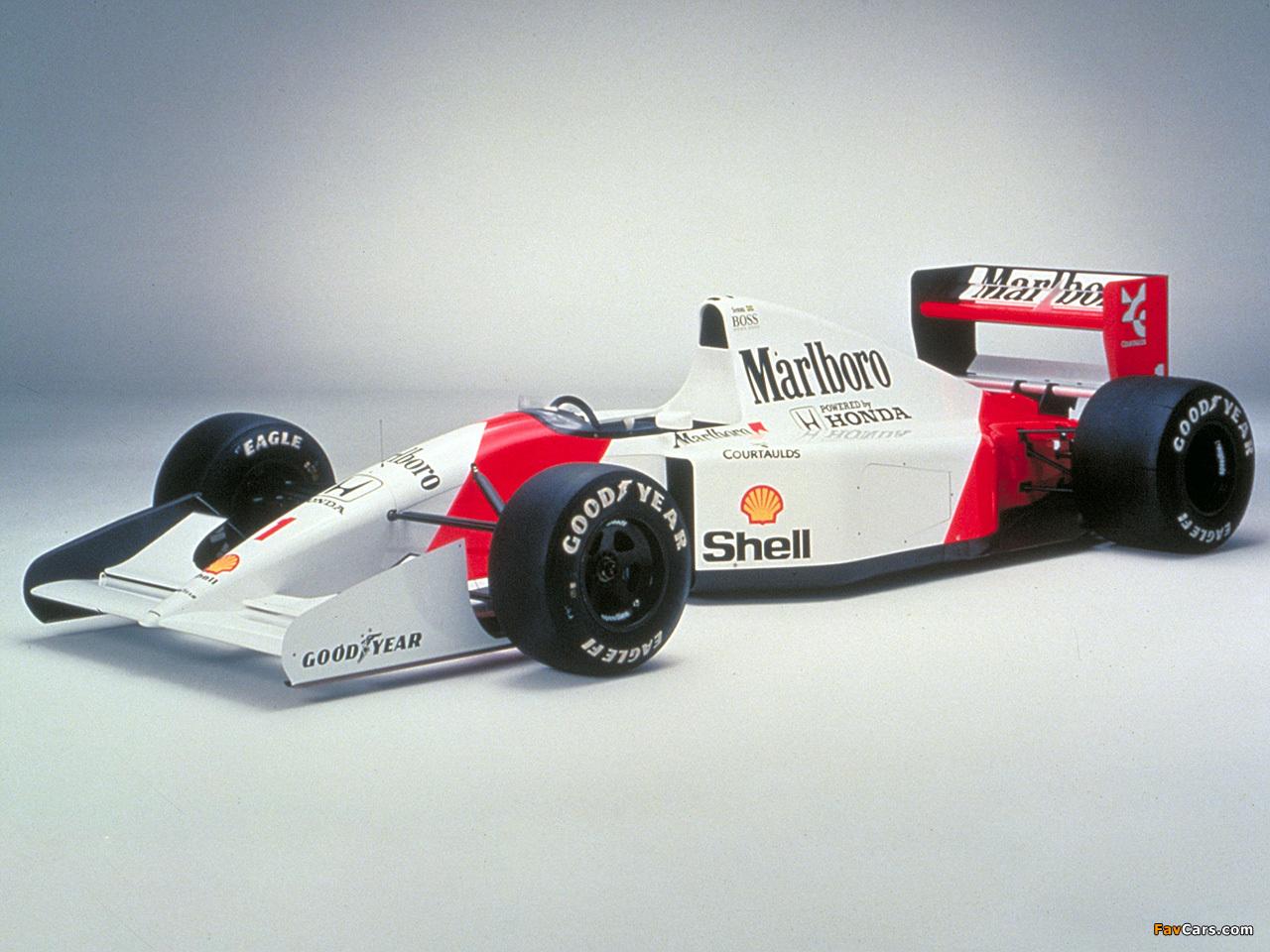 Mclaren X 1 >> McLaren Honda MP4-7 1992 wallpapers (1280x960)