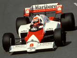 Pictures of McLaren MP4-2 1984