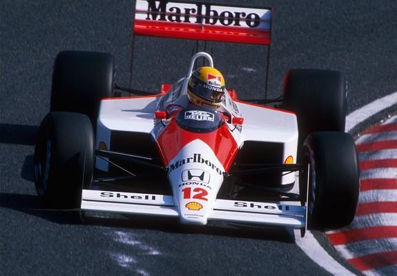 View Mclaren Mp4/4 Wallpaper Senna  Background