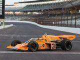 Pictures of McLaren M16C Indy 500 Race Car 1973–74