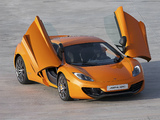 McLaren MP4-12C Prototype 2009–10 images