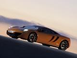 McLaren MP4-12C Prototype 2009–10 photos