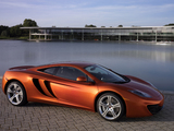 McLaren MP4-12C Prototype 2009–10 wallpapers