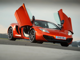 McLaren MP4-12C UK-spec 2011–14 photos