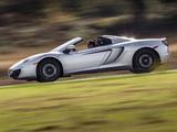 McLaren MP4-12C Spyder US-spec 2012–14 images