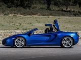 McLaren MP4-12C Spyder 2012–14 photos