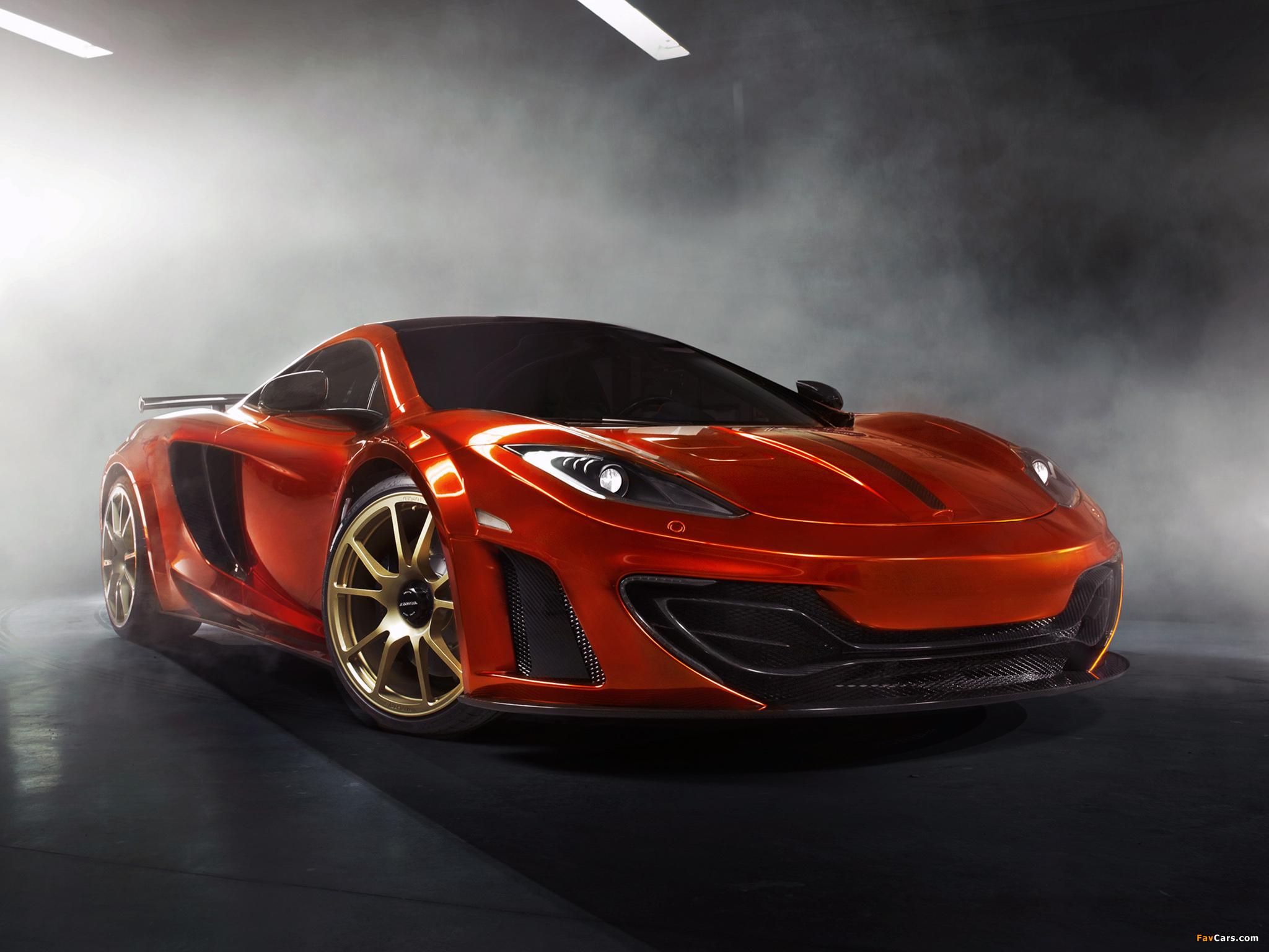 McLaren черный фон загрузить