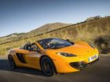 McLaren MP4-12C Spyder US-spec 2012–14 pictures