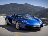 McLaren MP4-12C Spyder 2012–14 pictures