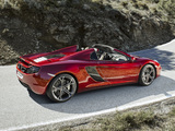 Pictures of McLaren MP4-12C Spyder 2012–14