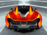 McLaren P1 Concept 2012 pictures