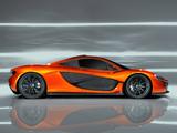 Pictures of McLaren P1 Concept 2012