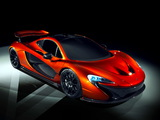 McLaren P1 Concept 2012 wallpapers