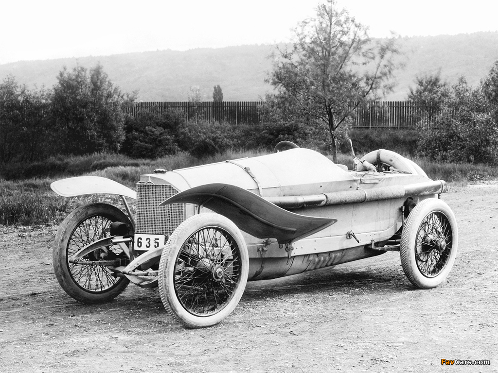Pictures of Mercedes 115 HP Grand Prix Racing Car 1914 (1024 x 768)