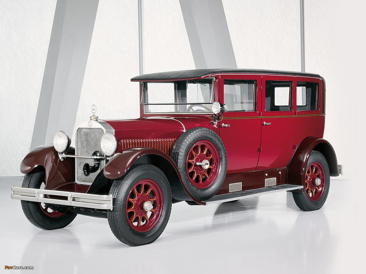 Mercedes-Benz 12/55 HP Pullman-Limousine 1926–28 wallpapers (1280 x 960)