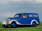Mercedes-Benz 170 Da Box-type Delivery Vehicle (W136VID) 1951–53 photos