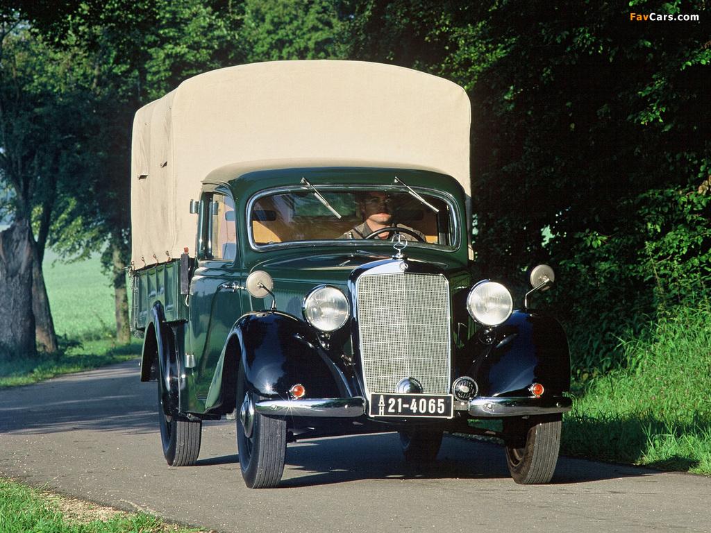 Mercedes benz 170 v pickup w136 1946 49 wallpapers for 1946 mercedes benz