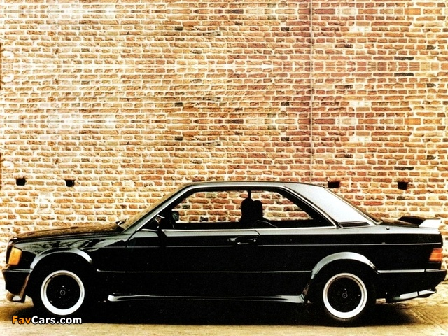 Images Of Schulz Tuning Mercedes Benz 190 E Coupe W201 640x480