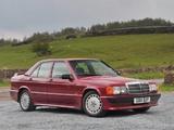 Mercedes-Benz 190 E 2.5-16 UK-spec (W201) 1988–93 images
