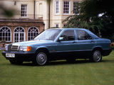 Mercedes-Benz 190 E UK-spec (W201) 1988–93 photos