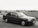 Mercedes-Benz 190 E 2.5-16 UK-spec (W201) 1988–93 photos